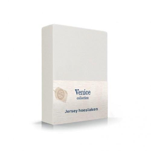 Jersey hoeslaken off White 100% katoen