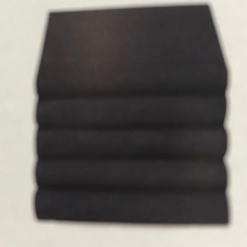 Jersey hoeslaken grijs melange