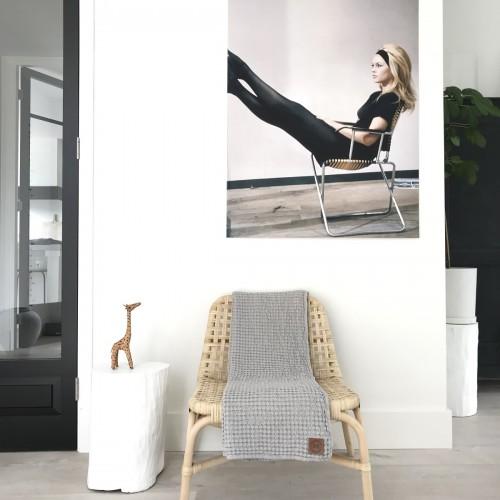 Plaid Aimy grijs 150×200