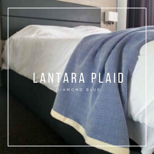 plaid / kleed diamond blue Lantara 200×300