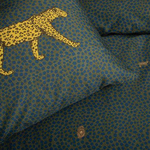 dekbedovertrek groen met tijger
