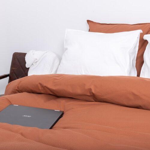 Arlington roest bruin beddengoed